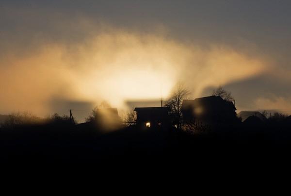 Рассвет над Даховской.