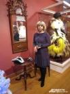 Целый год Лариса Рюмина трудилась над масками для выставки.