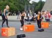 Соревнования среди девушек: прыжки
