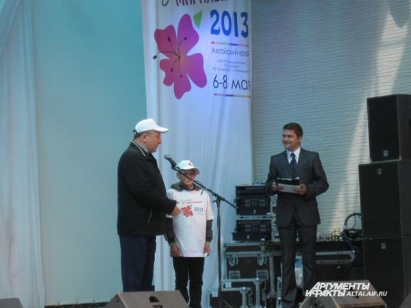Губернатор торжественно открыл фестиваль