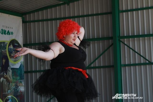 Барнаульцев учили не стесняться лишнего веса