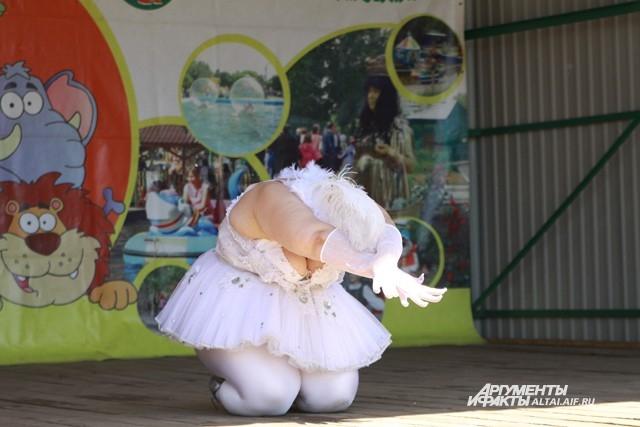 Танец белого лебедя