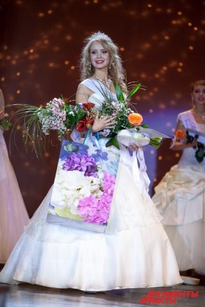 Титул «Вице-мисс Приморье» завоевала 16-летняя Александра Самойлова.
