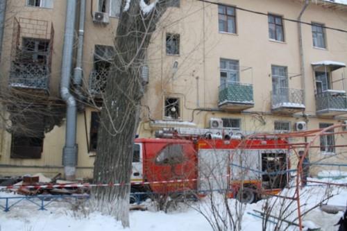 Двор по улице Мира, 13 оцеплен