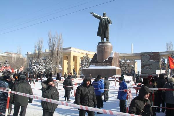 4 февраля в Волгограде прошли митинги