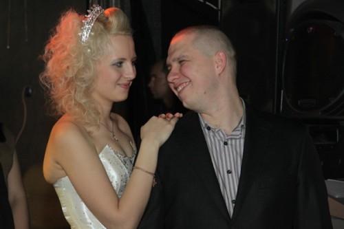 Победительница конкурса Наталья Щербак с мужем