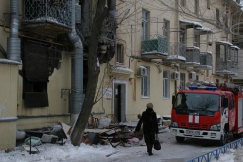 На месте ЧП работало 8 пожарных расчетов