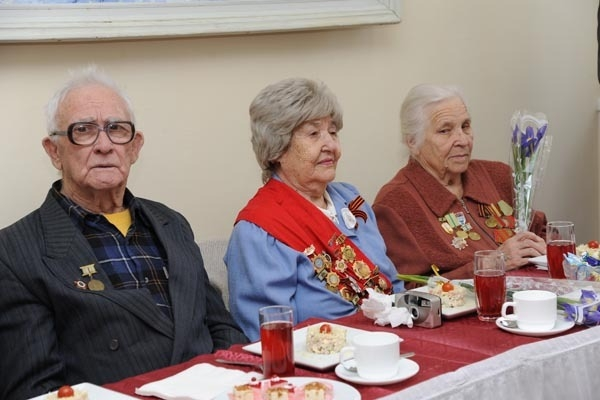 Ветераны Сталинградской битвы