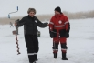 Снежные заносы не помешали любителям зимней ловли