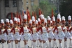 Парад открылся под барабанную дробь курсанток-барабанщиц Волгоградской академии МВД