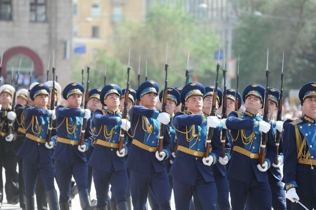Военный парад в Волгограде