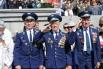 Ветераны на параде в Волгограде