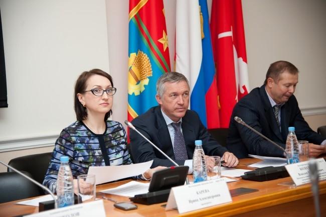 Председатель городской думы Ирина Карева