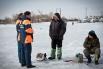 МЧСники проводят с рыбаками разъяснительные беседы