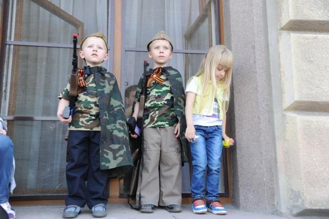 Юные защитники