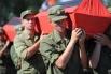 Перезахоронение 45 солдат