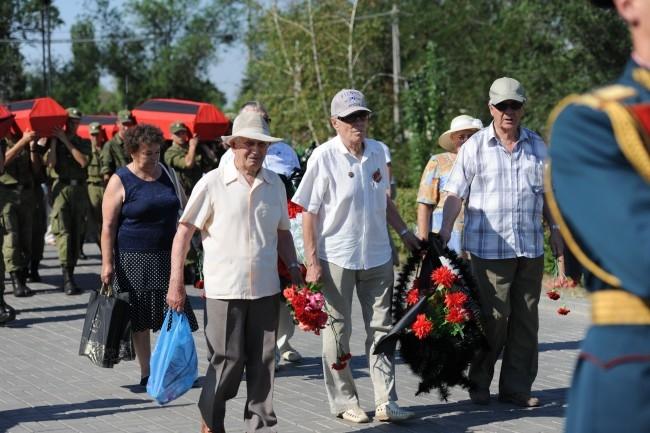 Ветераны почтили память павших