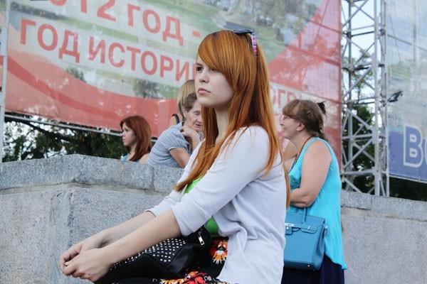 Парад рыжих в Волгограде
