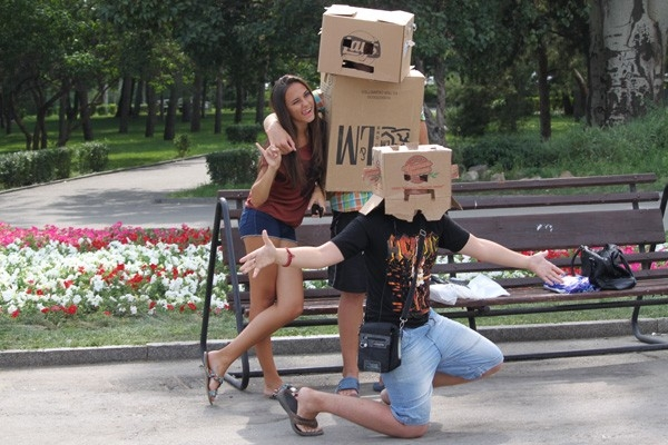 Флешмоб «Роботы»