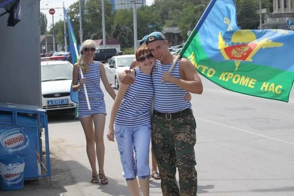 День ВДВ в Волгограде