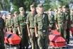 Перезахоронение солдат, погибших в годы войны