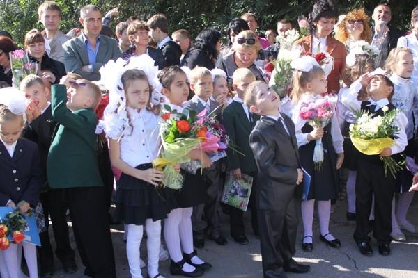 Первоклашки школы №105