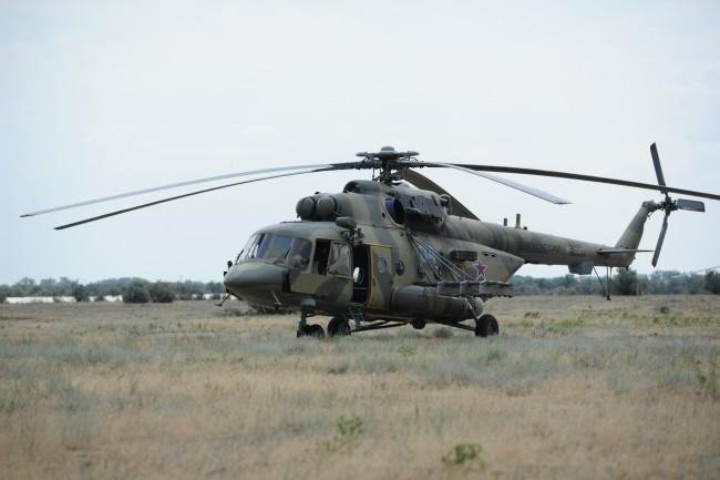 Окрестности осматривали с вертолетов