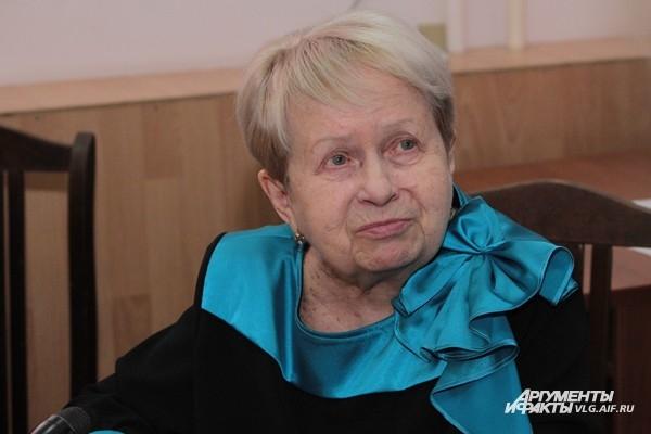 Александра Пахмутова посетила Волгоград