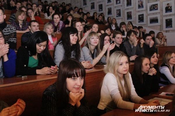 Волгоградцы отметили День студента
