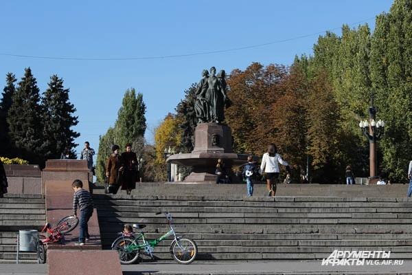Вспоминаем осенний Волгоград
