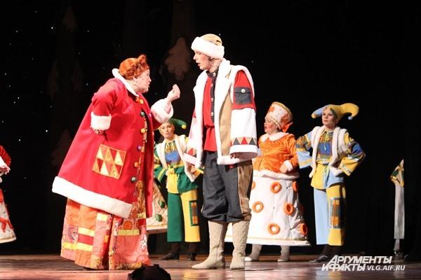 В музтеатре состоялась премьера спектакля «По щучьему велению»