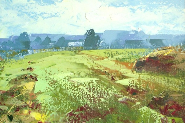 Валерий Макаров представляет свои картины
