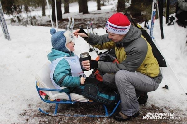 Волгоградцы встали на лыжи