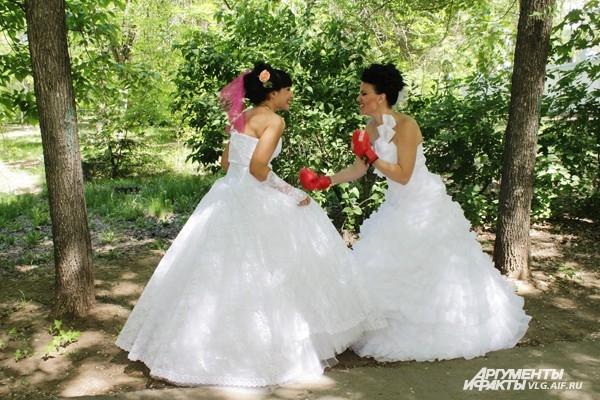 Невесты переполошили Волжский