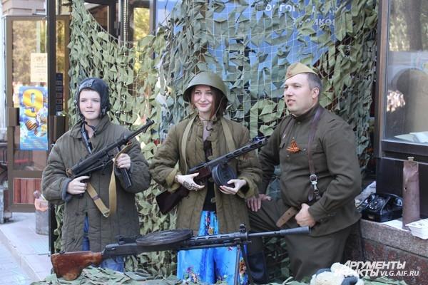 Волгоградцы отпраздновали День Победы