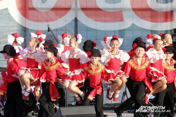 В Волгограде состоялся парад национальностей