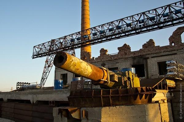 В Волгограде строят площадку для байк-шоу