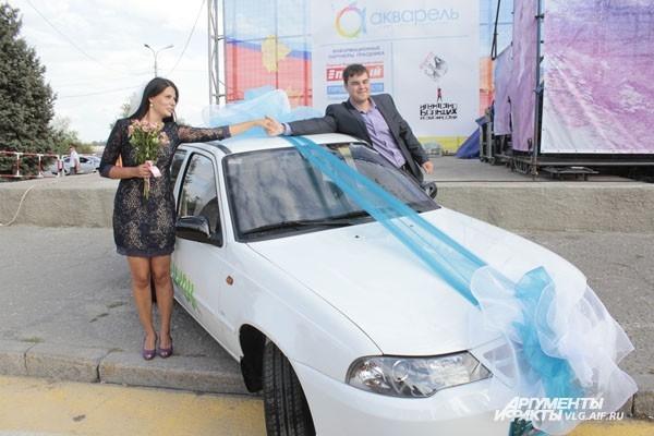 Семья Метасовых выиграла автомобиль