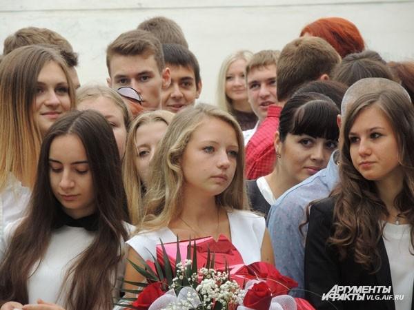 Будущие выпускники