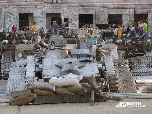 Декорации Сталинградской битвы