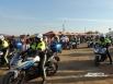 Безопасность обеспечивали 3 тыс. полицейских, в том числе на мотоциклах