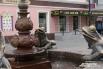 Сестры этих лягушек сидят в Волгограде вокруг фонтана у вокзала