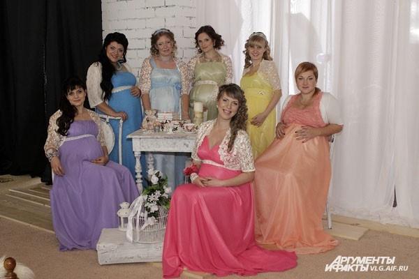 Волгоградки готовятся стать матерями