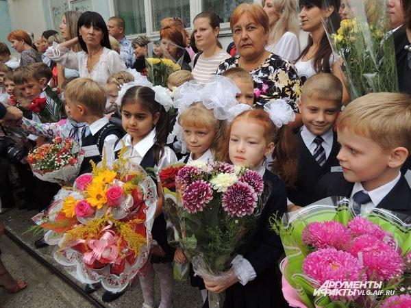 В этом году в Волгоградской области за парты сядут 23 тысячи первоклассников