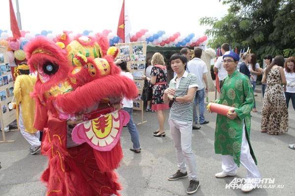 Китайский дракон залетел в Волгоград