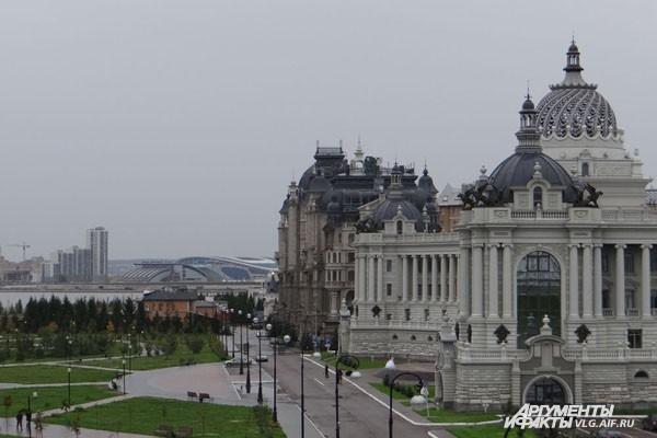 Дворец земледельцев - это шедевр современной архитектуры