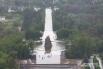 Вид на площадь «Стоявших на смерть» на Мамаевом кургане