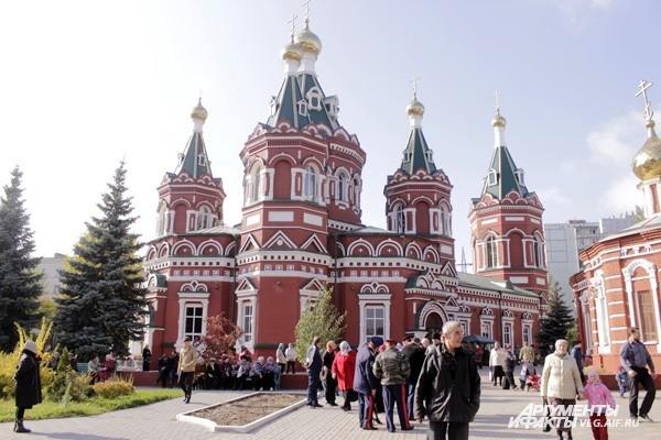 Казанский собор стал центром празднования