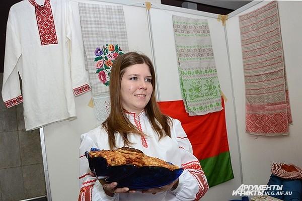 Белорусы угощают выпечкой с картошкой