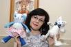 Татьяна Ковешникова и рукотворные кошки